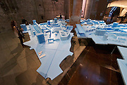 "Venice, Italy - 15th Architecture Biennale 2016, ""Reporting from the Front"".<br /> Arsenale.<br /> The Work of Bel Architects in Berlin."