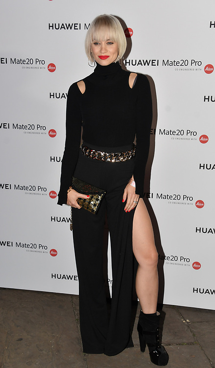 Kimberly Wyatt attend Huawei - VIP celebration at One Marylebone London, UK. 16 October 2018.