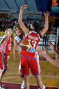 DESCRIZIONE : Venezia Additional Qualification Round Eurobasket Women 2009 Italia Croazia<br /> GIOCATORE : Manuela Zanon<br /> SQUADRA : Nazionale Italia Donne<br /> EVENTO : Italia Croazia<br /> GARA :<br /> DATA : 10/01/2009<br /> CATEGORIA : Passaggio<br /> SPORT : Pallacanestro<br /> AUTORE : Agenzia Ciamillo-Castoria/M.Gregolin