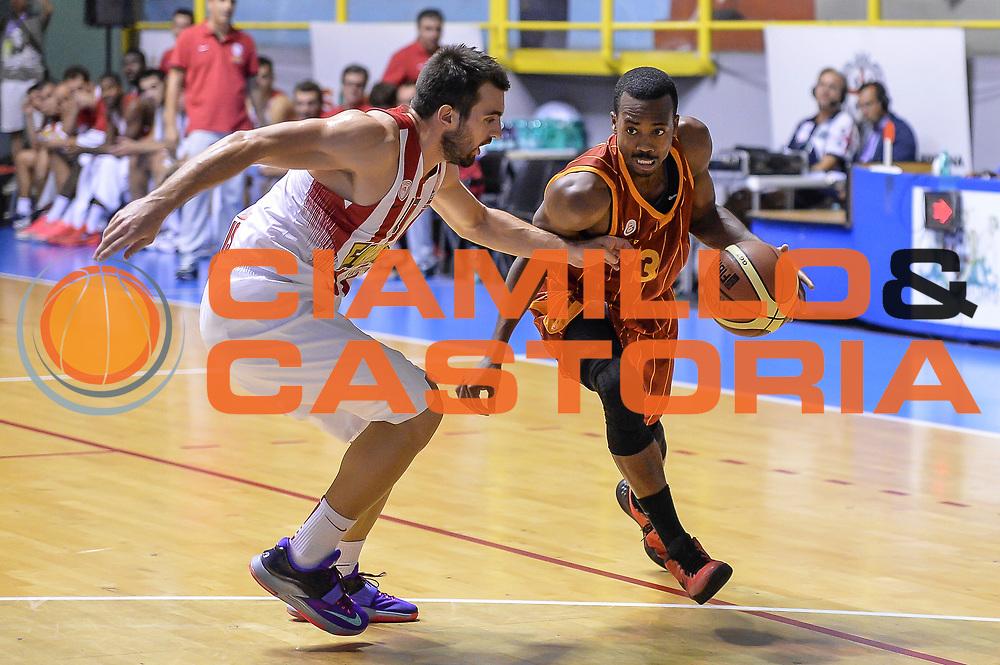 DESCRIZIONE : 5&deg; International Tournament City of Cagliari Olympiacos Piraeus Pireo - Galatasaray<br /> GIOCATORE : Errick McCollum<br /> CATEGORIA : Palleggio Penetrazione<br /> SQUADRA : Galatasaray<br /> EVENTO : 5&deg; International Tournament City of Cagliari<br /> GARA : Olympiacos Piraeus Pireo - Galatasaray Torneo Citt&agrave; di Cagliari<br /> DATA : 18/09/2015<br /> SPORT : Pallacanestro <br /> AUTORE : Agenzia Ciamillo-Castoria/L.Canu