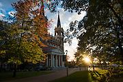 Fall colors at Gonzaga. (Rajah Bose photo)