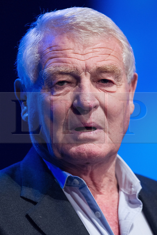 © Licensed to London News Pictures . 04/10/2014 . Glasgow , UK . PADDY ASHDOWN addresses a party rally at The Liberal Democrat Party Conference 2014 at the Scottish Exhibition and Conference Centre in Glasgow . Photo credit : Joel Goodman/LNP
