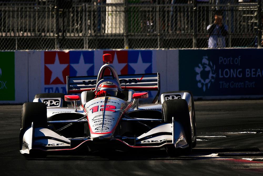 Will Power, Team Penske Chevrolet<br /> Saturday 14 April 2018<br /> Toyota Grand Prix of Long Beach<br /> Verizon IndyCar Series<br /> Streets of Long Beach, California USA<br /> World Copyright: Scott R LePage<br /> LAT Images