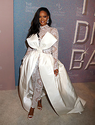 September 13, 2018 - New York City, New York, U.S. - Singer RIHANNA attends her 4th Annual Diamond Ball held at Cipriani Wall Street. (Credit Image: © Nancy Kaszerman/ZUMA Wire)