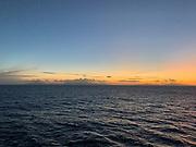 Raiatea Island and Tahaa Sunset, Society Islands, French Polynesia; South Pacific