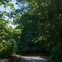 Carretera: Chuspa - Caruao - La Sabana - Oritapo - Quebrada Seca - Los Caracas. Estado Vargas. Venezuela. Road: Chuspa - Caruao - La Sabana - Oritapo - Quebrada Seca - Los Caracas. State Vargas. Venezuela.