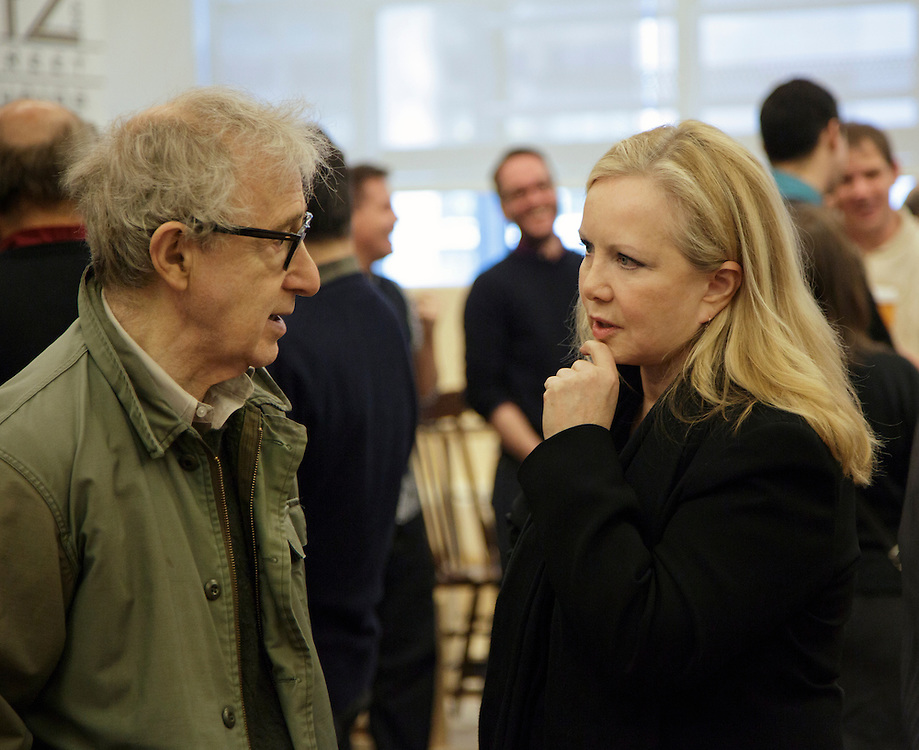 Bullets Over Broadway Meet and Greet<br /> Written by Woody Allen<br /> Susan Stroman: Director and Choreographer<br /> Credit Photo: Paul Kolnik<br /> studio@paulkolnik.com<br /> nyc 212-362-7778