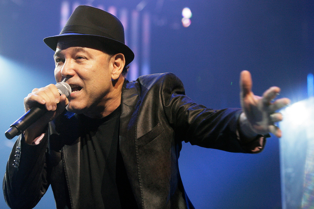 Ruben Blades performing at the 45th Montreux Jazz Festival, Switzerland.