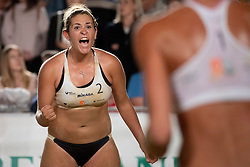 Tjasa Jancar during Final of Beach Volleyball Slovenian National Championship 2018, on July 21, 2018 in Kranj, Slovenia. Photo by Urban Urbanc / Sportida