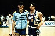Europei Francia 1983 - Nantes: Alberto Tonut medaglia d'oro