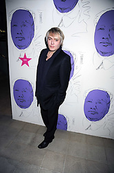 "NICK RHODES at an exhibition of work by Andy Warhol entitled ""Other Voices, Other Rooms"" at The Hayward Gallery, Southbank Centre, London SE1 on 6th October 2008."