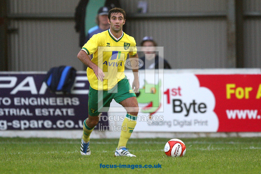 Simon Lappin of Norwich in action during a pre season friendly at New Lodge Stadium, Billericay...Picture by Paul Chesterton/Focus Images Ltd.  07904 640267.4/8/11