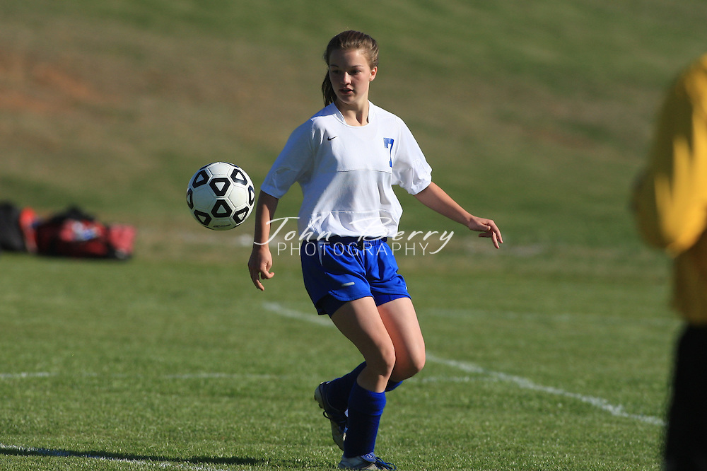 MCHS JV Girl's Soccer .vs George Mason .4/15/2008..