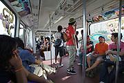 Malaysia, Kuala Lumpur. KL Monorail.