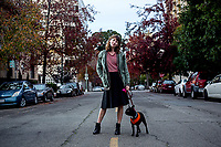 Katherine and Dizzy -Alice St.<br /> Downtown Oakland. After being priced out of San Francisco&rsquo;s Mission District she and her dog are on the hunt for a place to live in the East Bay, Oakland specifically, but the boom across the Bay has made this increasingly hard and the average cost for a 1 bedroom near BART is $1800.<br /> In San Francisco the average rent hit $3,392 in the the last quarter of 2014, that is a increase of 11% from the same quarter a year ago, according to the San Jose Mercury News in January 2015.
