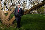 Deutschland, DEU,Potsdam,16.04.10.Portrait des Vorsitzenden des Deutschen Gewerkschaftbundes DGB Michael Sommer am Templiner See