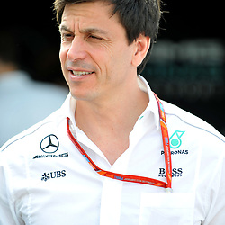 Toto Wolff, Executive director of Mercedes AMG Petronas F1 Team.<br /> <br /> Round 1 - 1st day of the 2017 Formula 1 Rolex Australian Grand Prix at The circuit of Albert Park, Melbourne, Victoria on the 23rd March 2017.<br /> Wayne Neal | SportPix.org.uk