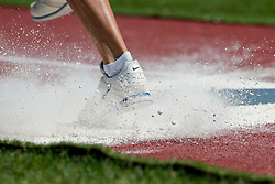Behind the scenes, , Triple Jump, 2013 IPC Athletics World Championships, Lyon, France