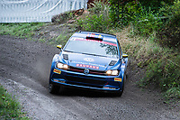 2019-09-07 | Linköping, Sweden: Johan Kristoffersson / Stig Rune Skjaermoen during East Rally Sweden / Rally SM  at Linköping ( Photo by: Simon Holmgren | Swe Press Photo )<br /> <br /> Keywords: Linköping, Linköping, Rally, East Rally Sweden / Rally SM, ,