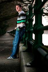 UK ENGLAND LONDON 15FEB07 - Fulham FC footballer Moritz Volz poses for photos at the Thames River, Fulham, West London.. . jre/Photo by Jiri Rezac. . © Jiri Rezac 2007. . Contact: +44 (0) 7050 110 417. Mobile:  +44 (0) 7801 337 683. Office:  +44 (0) 20 8968 9635. . Email:   jiri@jirirezac.com. Web:    www.jirirezac.com. . © All images Jiri Rezac 2007 - All rights reserved.
