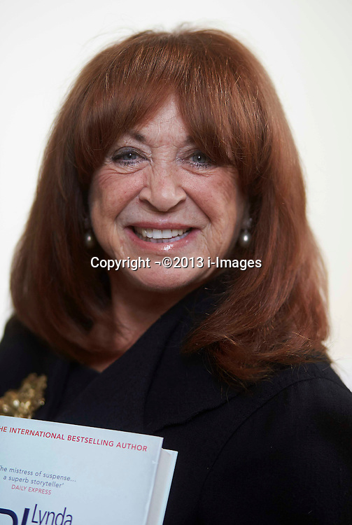 International best selling author Linda La Plante promotes her new book Wrongful Death at the the Windsor festival, Berkshire, United Kingdom, Tuesday 17 September 2013. Picture by i-Images