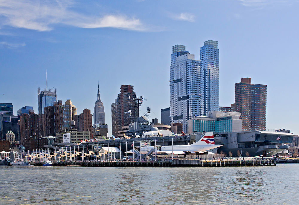 Hudson RIver, Manhattan, New York City, New York, USA