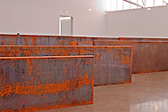 Gagosian Gallery, New York City, NY, 555 West 24th Street,  sculpture by Richard Serra