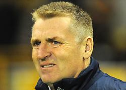 Brentford manager Dean Smith looks on - Mandatory by-line: Nizaam Jones/JMP - 02/01/2018 - FOOTBALL - Molineux - Wolverhampton, England- Wolverhampton Wanderers v Brentford -Sky Bet Championship