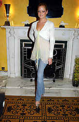 LADY ELOISE ANSON at a party to celebrate the launch of Michelle Watches held at the Blue Bar, The Berkeley Hotel, London on 7th October 2004.<br /><br />NON EXCLUSIVE - WORLD RIGHTS