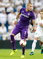 ACF Fiorentina's Cristiano Biraghi during Santiago Bernabeu Trophy. August 23,2017. (ALTERPHOTOS/Acero)