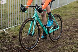 VAN DIJKE Tim (NED) during Men Under 23 race, 2020 UCI Cyclo-cross Worlds Dübendorf, Switzerland, 1 February 2020. Photo by Pim Nijland / Peloton Photos | All photos usage must carry mandatory copyright credit (Peloton Photos | Pim Nijland)