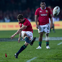 Leigh Halfpenny during game 5 of the British and Irish Lions 2017 Tour of New Zealand,The match between  The Maori All Blacks and British and Irish Lions, Rotorua International Stadium, Rotorua, Saturday 17th June 2017<br /> (Photo by Kevin Booth Steve Haag Sports)<br /> <br /> Images for social media must have consent from Steve Haag