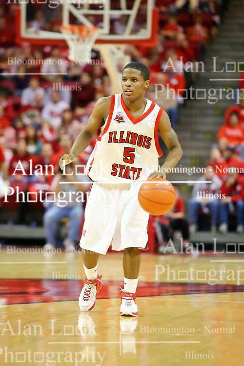 """06 January 2007: Keith """"Boo"""" Richardson. The Sycamores of Indiana State University topped the Redbirds home 54 - 50 inside Redbird Arena in Normal Illinois on the campus of Illinois State University.<br />"""