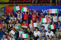 I TIFOSI DELL'ITALIA<br /> ITALIA - RUSSIA<br /> PALLAVOLO VNL VOLLEY PERUGIA <br /> PERUGIA 13-06-2019<br /> FOTO GALBIATI - RUBIN
