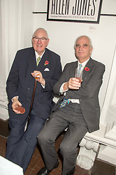 Left to right, HENRY KESWICK and SIR RICHARD CAREW POLE at a dinner to celebrate Sir David Tang's 20 year patronage of the Royal Academy of Arts and the start of building work on the Burlington Gardens wing of the Royal Academy held at 6 Burlington Gardens, London on 26th October 2015.