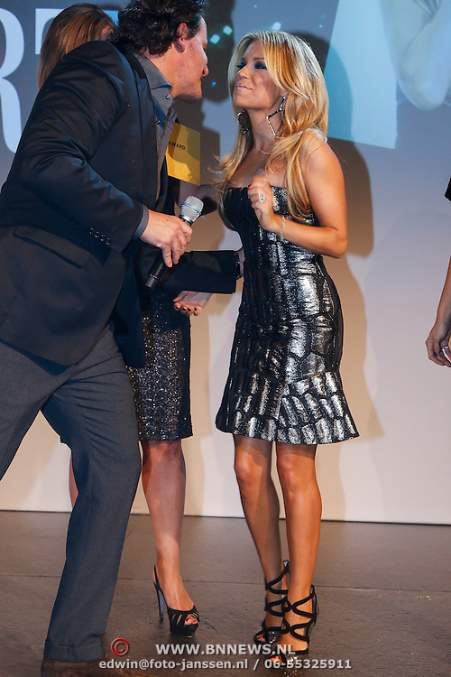 NLD/Amsterdam/20121112 - Beau Monde Awards 2012, Leco Zadelhoff en Sylvie van der Vaart