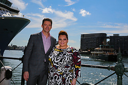 February 26, 2019 - HUGH JACKMAN and KEALA SETTLE during his announcement of his 2019 World Tour at Museum of Contemporary Art, Sydney on February 26, 2019  (Credit Image: © Christopher Khoury/Australian Press Agency via ZUMA  Wire)