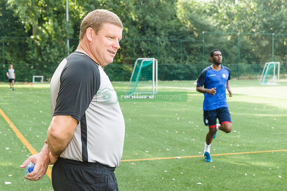 June 22, 2017 - Gent, BELGIUM - Gent's head coach Hein Vanhaezebrouck pictured during the first training session for the new 2017-2018 season of Jupiler Pro League team KAA Gent, in Gent, Thursday 22 June 2017. BELGA PHOTO JAMES ARTHUR GEKIERE (Credit Image: © James Arthur Gekiere/Belga via ZUMA Press)