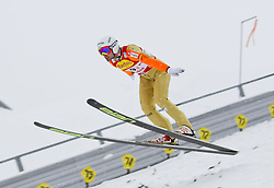 16.12.2011, Casino Arena, Seefeld, AUT, FIS Nordische Kombination, Ski Springen Team HS 109, im Bild Mitja Oranic (SOL) // Mitja Oranic of Slovenia during Ski jumping the team competition at FIS Nordic Combined World Cup in Sefeld, Austria on 20111211. EXPA Pictures © 2011, PhotoCredit: EXPA/ P.Rinderer