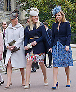 Royals Attend Easter Service, Windsor 2015-2