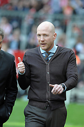 27.04.2013, Allianz Arena, Muenchen, GER, 1. FBL, FC Bayern Muenchen vs SC Freiburg, 31. Runde, im Bild Sportdirektor Matthias SAMMER (FC Bayern Muenchen), Freisteller // during the German Bundesliga 31th round match between FC Bayern Munich and SC Freiburg at the Allianz Arena, Munich, Germany on 2013/04/27. EXPA Pictures © 2013, PhotoCredit: EXPA/ Eibner/ Wolfgang Stuetzle..***** ATTENTION - OUT OF GER *****