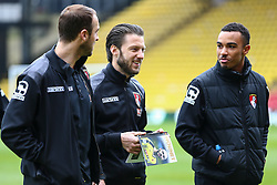 Bournemouth players arrive at Vicarage Road - Mandatory byline: Jason Brown/JMP - 27/02//2016 - FOOTBALL - Vicarage Road - Watford, England - Watford v Bournemouth - Barclays Premier League