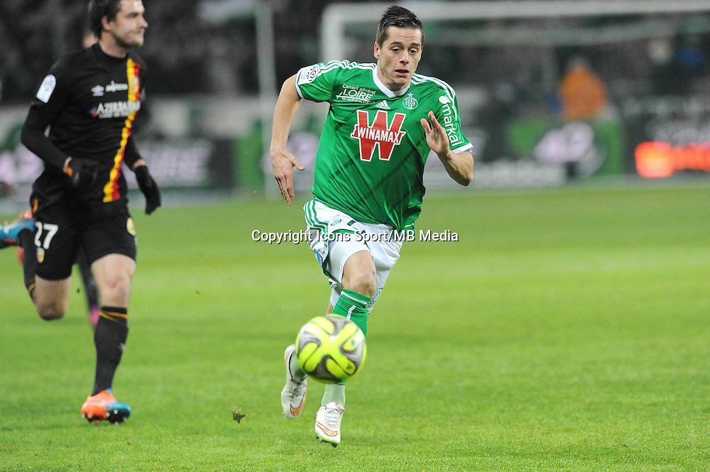 Romain HAMOUMA  - 06.02.2015 - Saint Etienne / Lens - 24eme journee de Ligue 1 -<br /> Photo : Jean Paul Thomas / Icon Sport