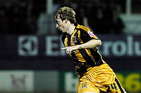 Photo: Leigh Quinnell.<br /> Luton Town v Hull City. Coca Cola Championship. 13/03/2007. David Livermore celebrates his goal for Hull.