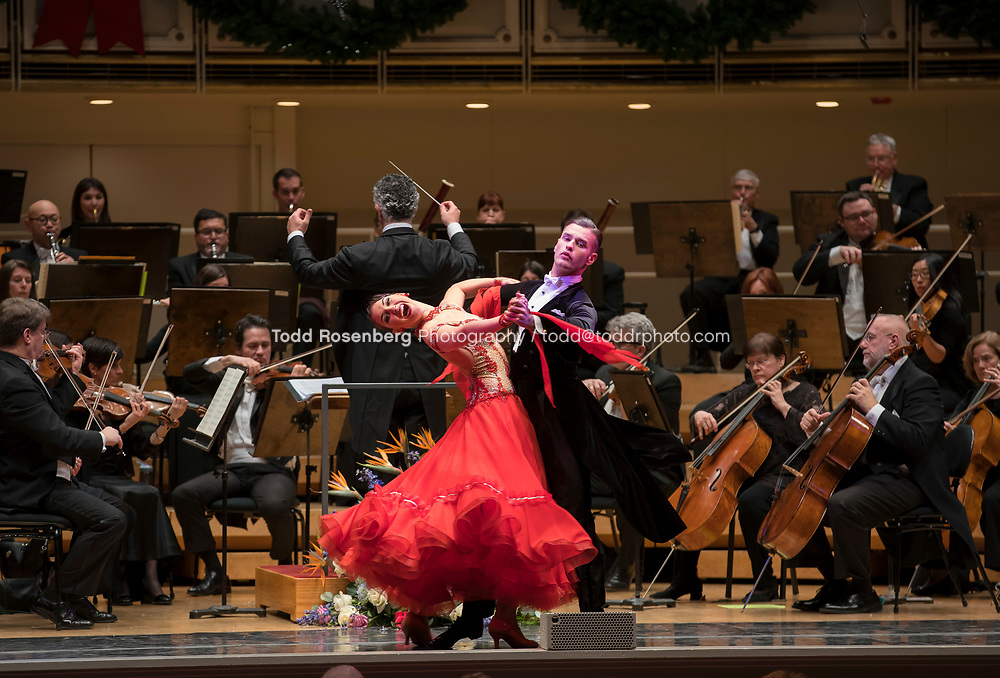 12/30/17 3:04:23 PM -- Chicago, IL, USA<br /> Attila Glatz Concert Productions' &quot;A Salute to Vienna&quot; at Orchestra Hall in Symphony Center. Featuring the Chicago Philharmonic <br /> <br /> &copy; Todd Rosenberg Photography 2017