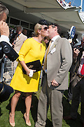 ZARA PHILLIPS; NATHANIEL PARKER, Glorious Goodwood. Thursday.  Sussex. 3 August 2013
