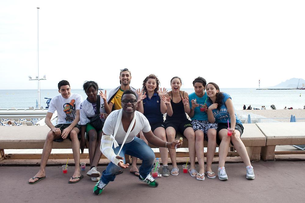 Cannes film festival, La croisette, Cannes se prépare pour le festival