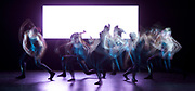 8 Minutes <br /> by Alexander Whitley<br /> at Sadler&rsquo;s Wells, London, Great Britain <br /> Press photocall <br /> 27th June 2017 <br /> <br /> <br /> <br /> World Premiere<br /> Co-commissioned by DanceEast &amp; <br /> Trinity Laban Conservatoire of Music &amp; Dance<br /> , 8 Minutes draws inspiration from the images and data of solar science research <br /> choreographed and directed by Alexander Whitley<br /> Daniel Wohl - Composer<br /> Tal Rosner - Video Artist<br /> <br /> Performed by<br /> Julia Sanz Fernandez<br /> David Ledger<br /> Luke Crook<br /> Victoria Roberts<br /> Hannah Eckholm<br /> Tia Hockey<br /> Leon Poulton&nbsp;<br /> <br /> <br /> <br /> Press night: Tuesday 27 June at 7:30pm<br /> <br /> <br /> Photograph by Elliott Franks <br /> Image licensed to Elliott Franks Photography Services