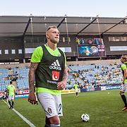 Malm&ouml;  2016 05 30 Swedbank stadion<br /> Practice game at Swedbank Stadion<br /> Sweden vs Slovenia<br /> John Guidetti<br /> <br /> <br /> <br /> <br /> ----<br /> FOTO : JOACHIM NYWALL KOD 0708840825_1<br /> COPYRIGHT JOACHIM NYWALL<br /> <br /> ***BETALBILD***<br /> Redovisas till <br /> NYWALL MEDIA AB<br /> Strandgatan 30<br /> 461 31 Trollh&auml;ttan<br /> Prislista enl BLF , om inget annat avtalas.