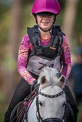 Sterckx Fleur, BEL, Plum van Blommerschot<br /> LRV Ponie cross - Zoersel 2018<br /> © Hippo Foto - Dirk Caremans<br /> 28/10/2018